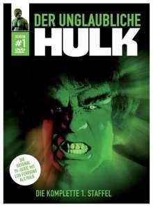 Der unglaubliche Hulk Season 1, 4 DVDs
