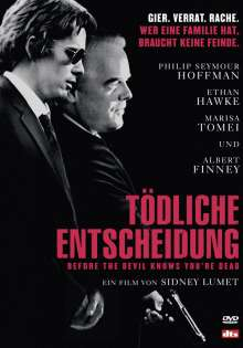 Tödliche Entscheidung - Before The Devil Knows You're Dead, DVD