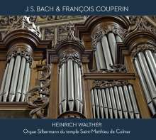 Heinrich Walther - J.S.Bach & Francois Couperin, CD