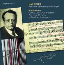 Max Reger (1873-1916): Sämtliche Transkriptionen für Orgel, 4 CDs