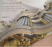Mami Nagata spielt die Treutmann-Orgel von 1737 Ehemalige Stiftskirche St. Georg zu Grauhof, CD