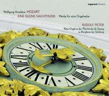 """Wolfgang Amadeus Mozart (1756-1791): Werke für eine Orgelwalze - """"Eine kleine Nachtmusik"""", CD"""