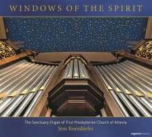 The Sanctuary Organ of First Presbyterian Church Atlanta - Windows of the Spirit, CD