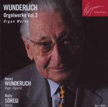 Heinz Wunderlich (1919-2012): Orgelwerke Vol.2, CD