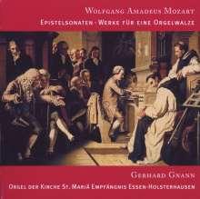 Wolfgang Amadeus Mozart (1756-1791): Kirchensonaten für Orgel solo, CD