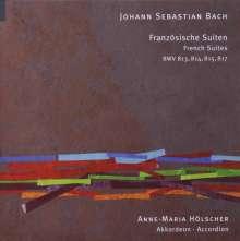 Johann Sebastian Bach (1685-1750): Französische Suiten BWV BWV 813-815,817 für Akkordeon, CD