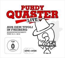 """Dieter """"Quaster"""" Hertrampf: Quaster Live aus dem Tivoli 2016, 2 CDs und 1 DVD"""