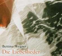 Bettina Wegner: Die Liebeslieder, 2 CDs