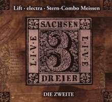 Stern Combo Meissen/Lift/Electra: Sachsendreier Live - Die Zweite, CD