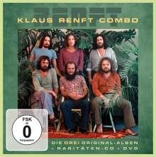 Klaus Renft Combo: Die drei Original Amiga-Alben, Hits und Raritäten (4 CD + DVD), 4 CDs