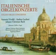 Johannes Geffert spielt Orgelkonzerte, CD