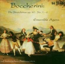 Luigi Boccherini (1743-1805): Streichtrios op.47 Nr.1-6 (G.107-112), CD