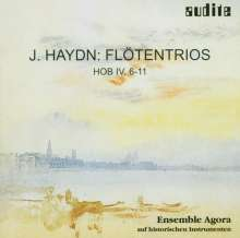 Joseph Haydn (1732-1809): Flötentrios H4 Nr.6-11 (op.100), CD