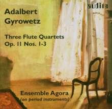 Adalbert Gyrowetz (1763-1850): Flötenquartette op.11 Nr.1-3, CD