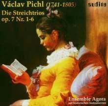 Wenzel Pichel (1741-1805): Streichtrios op.7 Nr.1-6, 2 CDs