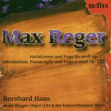Max Reger (1873-1916): Introduktion,Passacaglia & Fuge op.127, CD