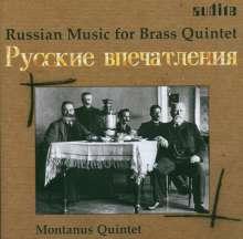 Montanus-Quintett - Russian Brass Music, CD