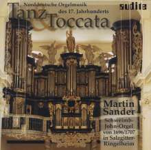 Martin Sander - Tanz & Toccata, CD