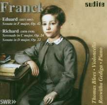Richard Franck (1858-1938): Cellosonate op.22, CD