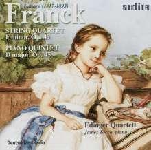 Eduard Franck (1817-1893): Streichquartett op.49, CD