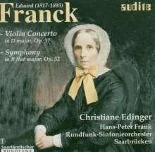 Eduard Franck (1817-1893): Symphonie op.52, CD