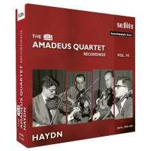 Amadeus Quartett - RIAS Recordings Vol.6, 5 CDs