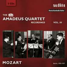 Amadeus Quartett - RIAS Recordings Vol.3, 5 CDs