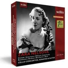 Zara Nelsova - Cello Concertos, Sonatas & Suites, 4 CDs