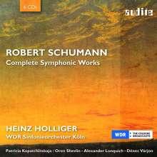 Robert Schumann (1810-1856): Complete Symphonic Works, 6 CDs