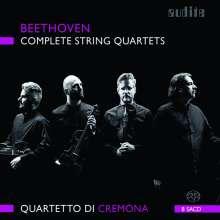 Ludwig van Beethoven (1770-1827): Streichquartette Nr.1-16, 8 SACDs