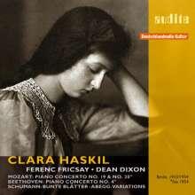Clara Haskil spielt Klavierkonzerte, 2 CDs