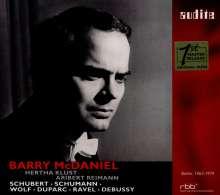 Barry McDaniel - SFB-Aufnahmen Berlin 1963-1974, 2 CDs
