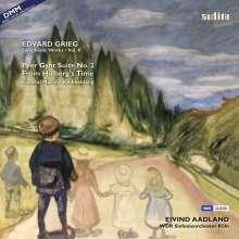 Edvard Grieg (1843-1907): Orchesterwerke Vol.2 (180g), LP