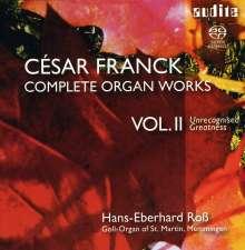 Cesar Franck (1822-1890): Sämtliche Orgelwerke Vol.2 - Verkannte Größe, 2 Super Audio CDs