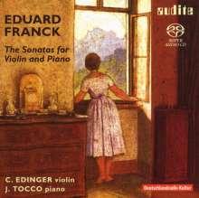 Eduard Franck (1817-1893): Die Sonaten für Violine & Klavier, 2 SACDs