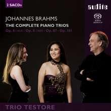 Johannes Brahms (1833-1897): Klaviertrios Nr.1-3, 2 Super Audio CDs