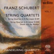 Franz Schubert (1797-1828): Streichquartette Vol.1, Super Audio CD