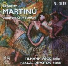 Bohuslav Martinu (1890-1959): Sonaten f.Cello & Klavier Nr.1-3, Super Audio CD