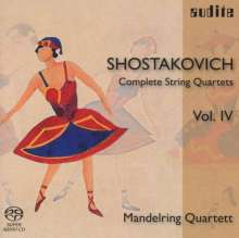 Dmitri Schostakowitsch (1906-1975): Sämtliche Streichquartette Vol.4 (Mandelring Quartett), Super Audio CD