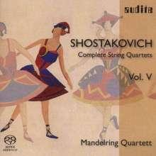 Dmitri Schostakowitsch (1906-1975): Sämtliche Streichquartette Vol.5 (Mandelring Quartett), Super Audio CD