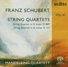 Franz Schubert (1797-1828): Streichquartette Vol.3, Super Audio CD