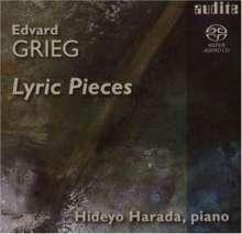 Edvard Grieg (1843-1907): 22 Lyrische Stücke, Super Audio CD