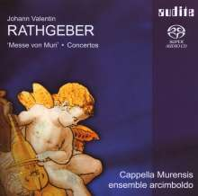 "Johann Valentin Rathgeber (1682-1750): Missa XII op.12 ""Messe von Muri"", Super Audio CD"