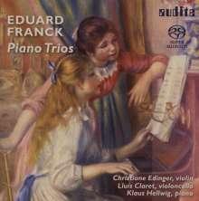 Eduard Franck (1817-1893): Klaviertrios op.11 & op.58, SACD