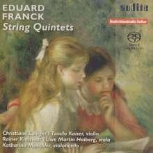 Eduard Franck (1817-1893): Streichquintette opp.15 & 51, SACD