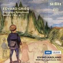 Edvard Grieg (1843-1907): Sämtliche Orchesterwerke Vol.2, SACD