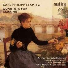 Carl Stamitz (1745-1801): Klarinettenquartette op.19, SACD