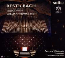 Johann Sebastian Bach (1685-1750): Orgelwerke in Bearbeitungen von William Thomas Best, SACD