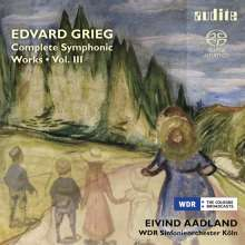 Edvard Grieg (1843-1907): Sämtliche Orchesterwerke Vol.3, Super Audio CD