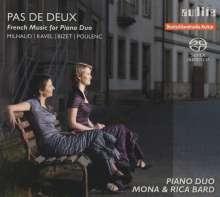 Pas de deux - Französische Musik für 2 Klaviere, Super Audio CD